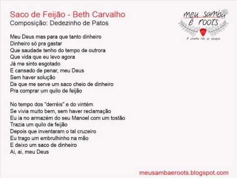 Saco de Feijão - Beth Carvalho