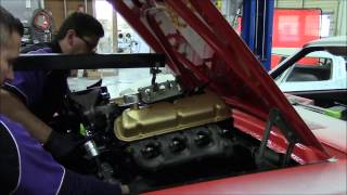 1964.5 Ford Mustang D Code 289 Engine Install