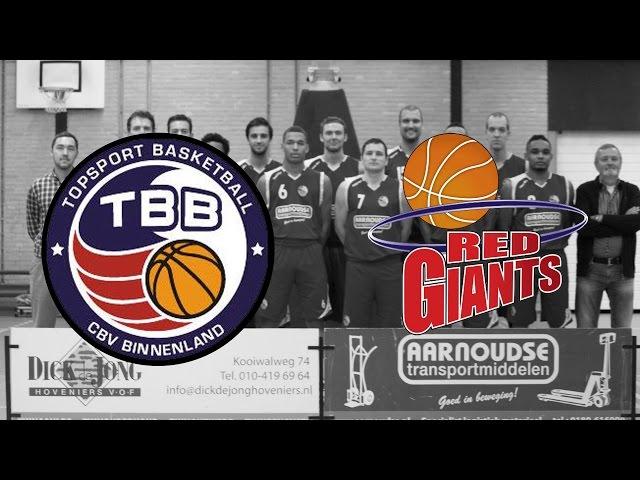 Binnenland Heren 1 vs Red Giants PLAY-OFF 1
