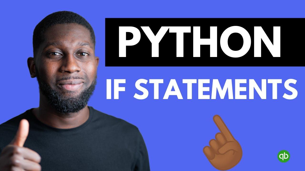 Python Tutorial for Beginners - Python If Statements