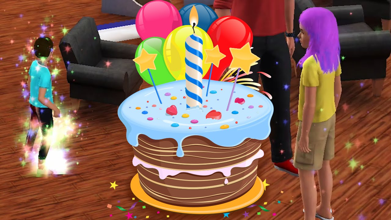 Birthday Party Decorations Sims 3 Image Inspiration of Cake and