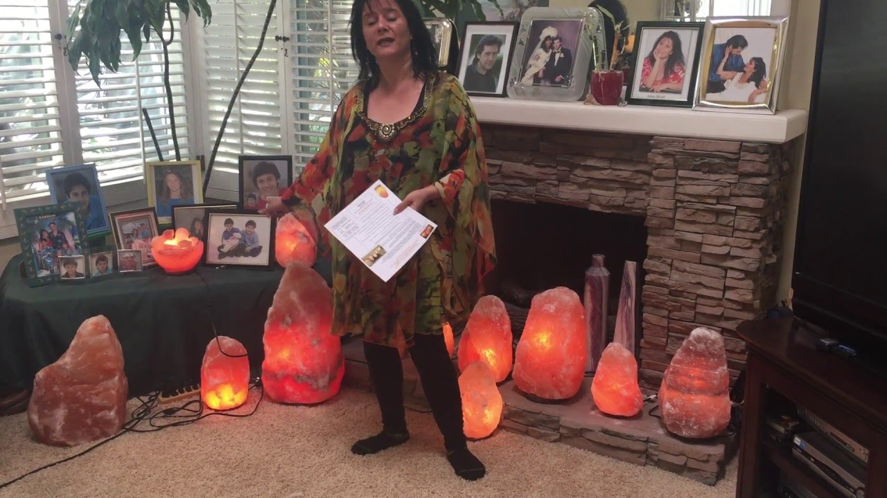 Himalayan Salt Lamp Review with Natural health care practitioner ...