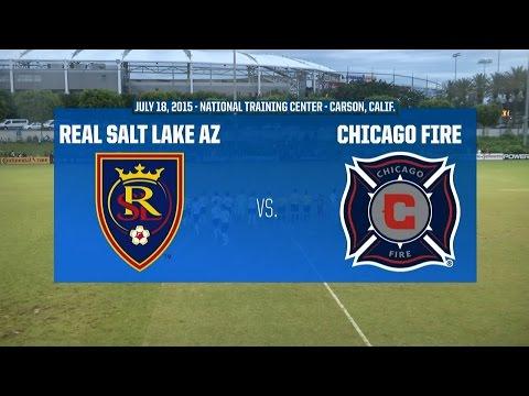 Development Academy Championship - U-17/18: Real Salt Lake AZ vs. Chicago Fire: - July 18, 2015