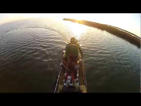 Kayak Fishing West Bay Galveston, Texas Redfish