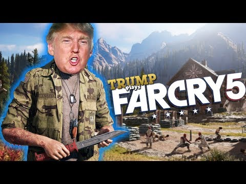 IF the PRESIDENT played FAR CRY 5! (Voice Impression)
