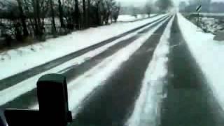 Kamionozás télen