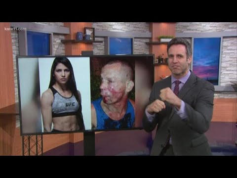Chris Proctor - MMA Fighter Beats Up Would Be Mugger