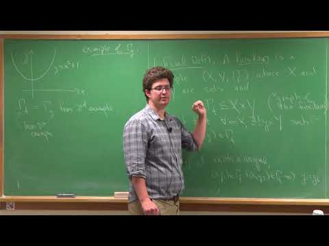 Lecture 23: Functions (adjectives: Onto, One-to-one, Bijective), (subsets: Images, Preimages)