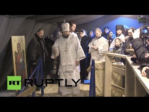 LIVE: Muscovites brave the cold for Epiphany swim