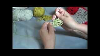 ВЯЗАНИЕ КРЮЧКОМ. Урок 6. Филейное вязание