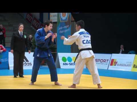 Judo WC Oberwart -66kg CHO, Jun-Ho - Reiter, Georg.mp4