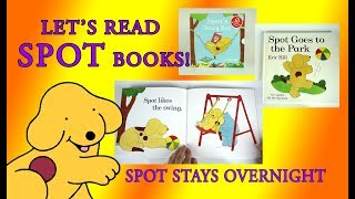 Spot Stays Overnight, Original Lift the Flap Books, Full Book Reveal, Eric Hill