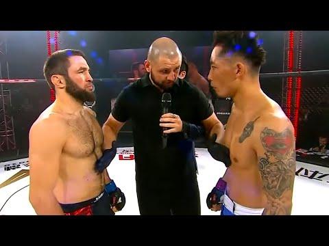Gazavat Suleymanov (Russia) vs Yibugele (China) | KNOCKOUT, MMA Fight, HD