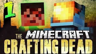 Minecraft Crafting Dead Mod Pack 1 | A SAVAGE NEW WORLD! - Walking Dead in Minecraft