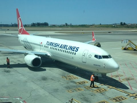 Flight Turkish Airlines Boeing 737-800 Lisbon to Istanbul Ataturk Airport