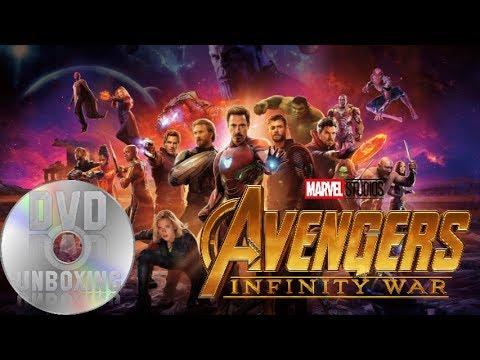 infinity war dvd