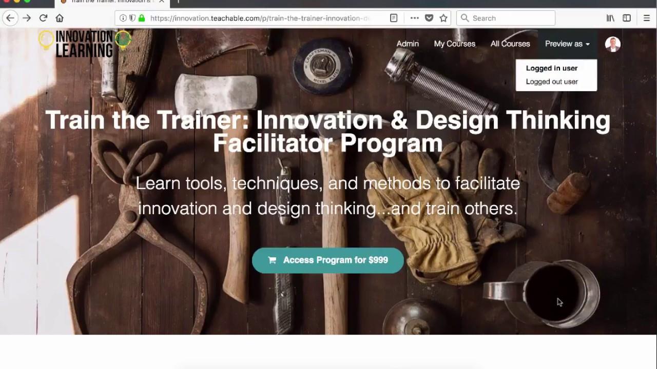 Innovation Facilitators & Innovative Facilitation Training