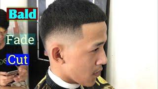 BALD FADE / haircut tutorial 6/0 (Tagalog )