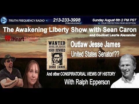 Secret Society Hand Symbols and Jesse James U.S. Senator? Ralph Epperson