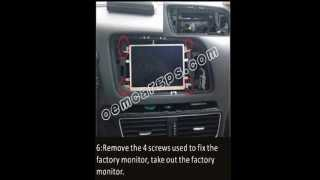 How to Install Car Stereo DVD GPS System on Audi Q5