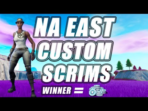 🔴(NA EAST) CUSTOM MATCHMAKING SCRIMS! SOLOS,DUOS,SQUADS! FORTNITE LIVE| PS4,XBOX,PC,SWITCH,MOBILE