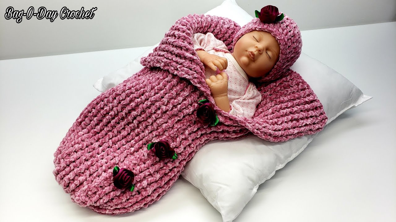 Crochet Baby Cocoon Patterns - 10 free crochet patterns link list | 720x1280
