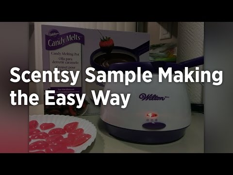 Make Scentsy Samples the Easy Way