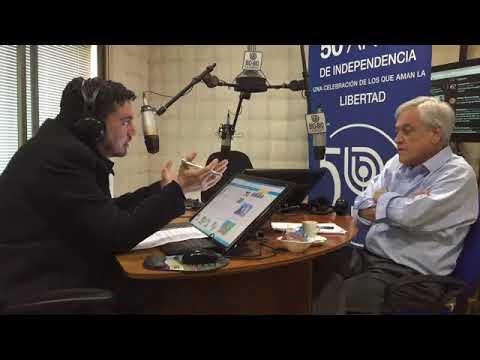 Sebastián Piñera en Radio Bío Bío de Concepción | Entrevista completa
