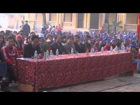 Trường Trung học Cơ sở Tam Hồng với ngày hội truyền thông Vệ Sinh Môi Trường