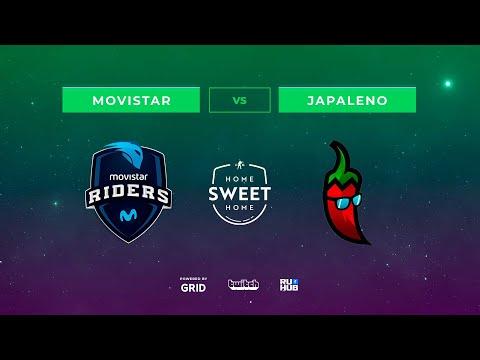 Movistar Riders vs Japaleno vod