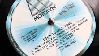 The Originals - Down To Love Town