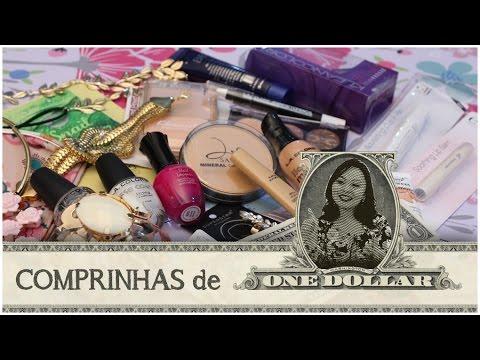 COMPRINHAS DE US$1,00: MAQUIAGEM, ACESSÓRIOS E COSMÉTICOS
