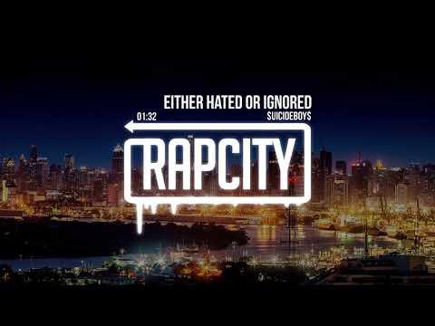 $UICIDEBOY$ - EITHER HATED OR IGNORED (Lyrics)