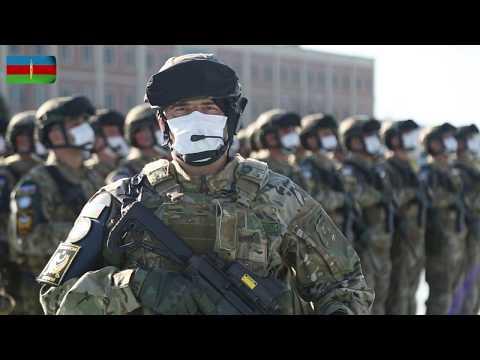 Azərbaycan Ordusunun Parad Heyəti Moskvaya Yola Düşüb