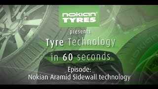Tyre technology in 60 seconds: Nokian Aramid Sidewall technology in summer tyres