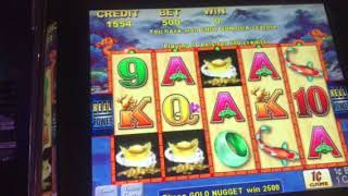 CHOY SUN DOA max bet 5.00$ slot session bonus hit -5 green game max pay