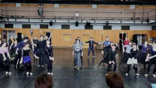 劇団四季:『オペラ座の怪人』:稽古場取材会の様子
