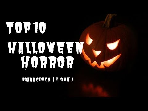 Top 10 Halloween / Horror Themed Board Games (That I Own) 2019