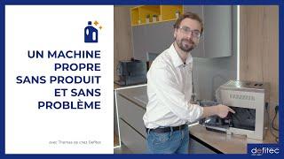 Pas besoin de produit pour l'entretien de votre machine à café automatique