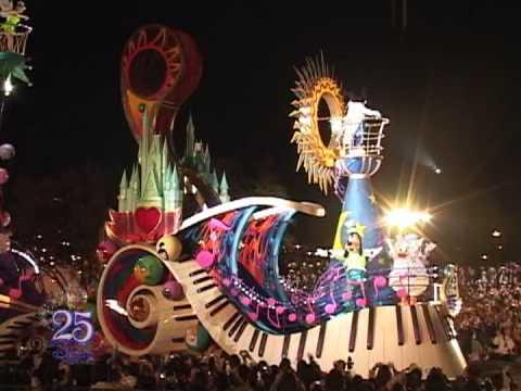 東京ディズニーリゾート25th魔法の鍵ショーパレード ...