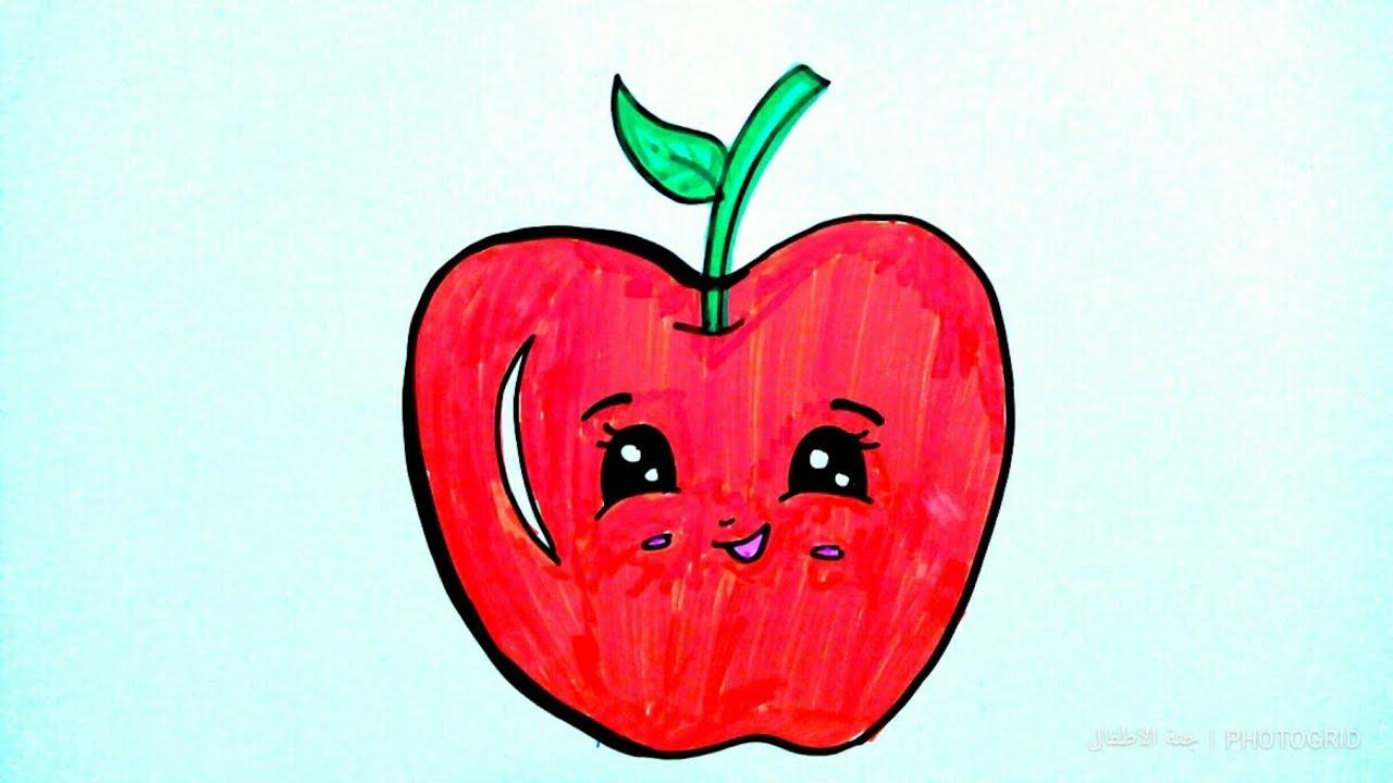كيفية رسم تفاحة للمبتدئين 14