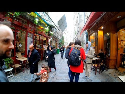 ⁴ᴷ Paris Walking Tour 🇫🇷 Back Streets And Shopping Streets Of Le Marais, France 4K