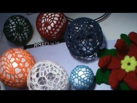 1 de 2 como tejer dise o para bola o esfera en ganchillo - Bolas de ganchillo ...
