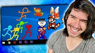 Animator Vs. Mario Bros
