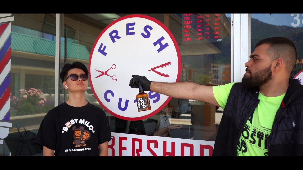 Fresh Cuts Barbershop   Video 9   YouTube
