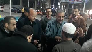بالفيديو مواطن يستوقف محافظ الاسناعيلية ويشتكي من اشغالات  شارع مصر