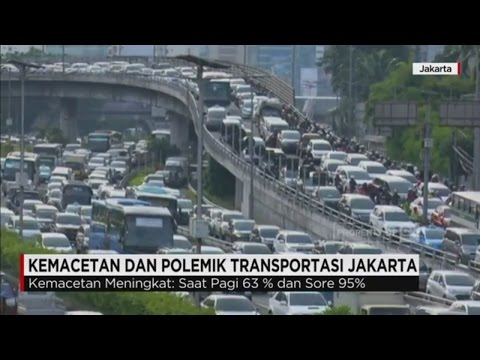 Kemacetan & Polemik Transportasi Jakarta