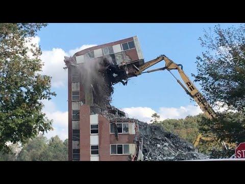 Epic Demolition Of Buildings - Best Building Demolition Compilation