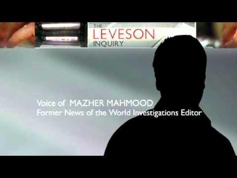 Leveson Inquiry: NoW's 'Fake Skeikh' Mazher Mahmood Speaks