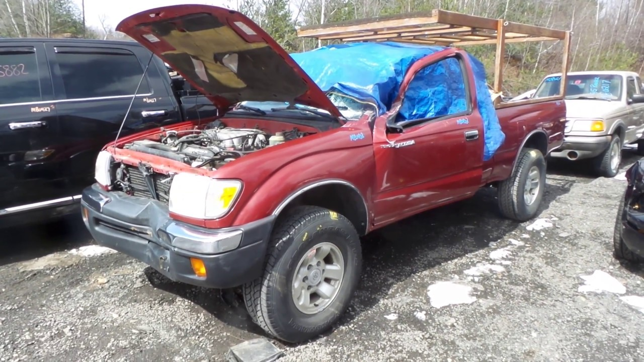 Parting out toyota tacoma